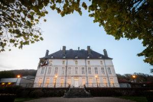 la nuit tombe sur le Château